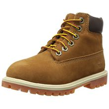 Timberland 6 In Classic Boot FTC_6 In Premium WP Boot 14749, Unisex-Kinder Stiefel, Braun (Rust Nubuck with Honey), EU 33 (US 1.5)