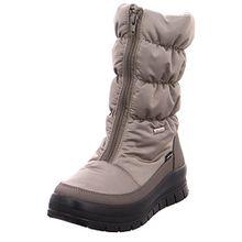 Vista Damen Winterstiefel Snowboots Beige, Größe:41;Farbe:Beige
