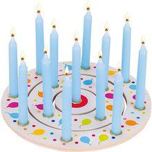 Geburtstagskranz Luftballons, 3-tlg. mehrfarbig