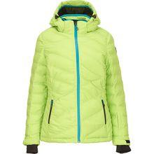 KILLTEC Daunenjacken Hilja - Jacke in Daunenoptik mit abzippbarer Kapuze und Schneefang hellgrün Damen