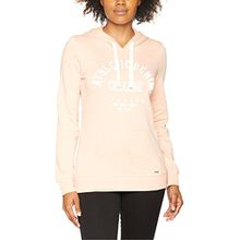 TOM TAILOR Denim Damen Kapuzenpullover Minimal Star Sweater w/Hood, Rosa (Evening Rose 4676), 36 (Herstellergröße: S)