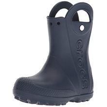 crocs Handle It Rain Boot, Unisex - Kinder Gummistiefel, Blau (Navy), 29/30 EU