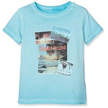 Pepe Jeans Jungen Jerome Jr T-Shirt, Blau (Lt Turquoise), 12 Jahre (Herstellergröße: 12)