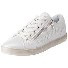 Lico Damen Treasure Low Hohe Sneaker, Silber (Silber), 42 EU