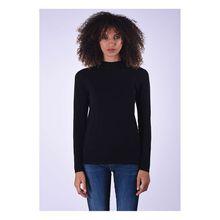 Kaporal Pullover Tam Black mit eleganter Spitzenverzierung Pullover schwarz Damen