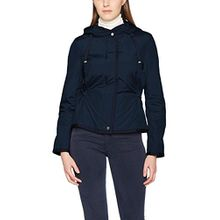 Geox Damen Jacke Woman Jacket, Blau (Dark Navy F4300), 38 (Herstellergröße: 44)