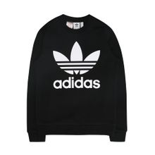 ADIDAS ORIGINALS Pullover 'CREW' schwarz / weiß