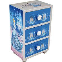 Disney Princess Tisch-Kommode Cinderella, Holz
