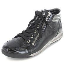 ara ROM-STF, Damen Hohe Sneaker, Schwarz (Schwarz, Gun 10), 38 EU (5 UK)