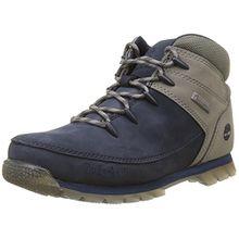 Timberland Unisex-Kinder Euro Sprint Hiker Chukka Boots, Blau (Black Iris), 37 EU