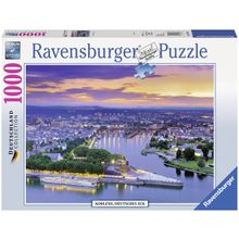 Ravensburger Puzzle »Koblenz, deutsches Eck«, 1000 Teilig, Softclick Technology