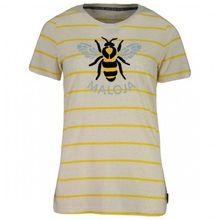 Maloja - Women's CalüraM. - T-Shirt Gr L;M;S grau/beige