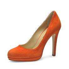 Evita Shoes Pumps orange Damen