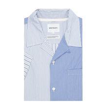 Regular Fit Freizeithemd aus Baumwolle mit kurzem Arm Modell 'Carsten'