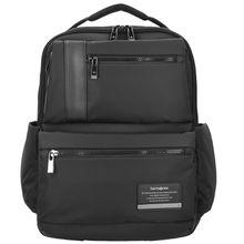 SAMSONITE Openroad Business Rucksack Leder 42 cm Laptopfach schwarz