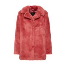 ONLY Jacke Fake Fur pink / rosé