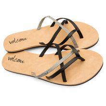 Volcom - Women's New School Sandal - Sandalen Gr 5;8 beige;braun