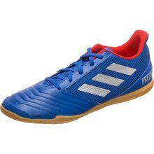adidas Performance Predator 19.4 Sala Indoor Fußballschuh Herren blau/silber Herren