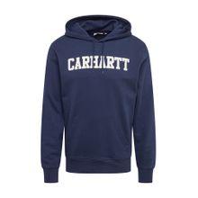 Carhartt WIP Kapuzenpullover 'Hooded College Sweat' blau / weiß