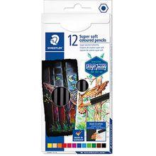 Staedtler Buntstifte Super soft, 12 Farben