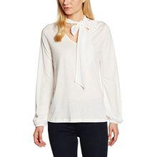 CINQUE Damen Langarmshirt Cithekla, Weiß (Creme 02), Medium