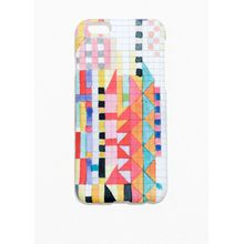 Geo Doodle iPhone 6 Case - White