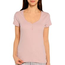 Marc O'Polo Pyjamaoberteil in rosa für Damen