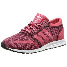 adidas Originals Damen Los Angeles Sneaker, Rot (Lush Pink S16-St/Lush Pink S16-St/Ftwr White), 36 EU