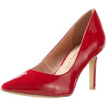 Buffalo H733-C002A-4 P2010L Patent, Damen Pumps, Rot (Red), 36 EU