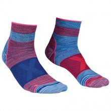 Ortovox - Women's Alpinist Quarter Socks - Multifunktionssocken Gr 35-38;39-41;42-44 grau/rosa;blau/lila/rosa