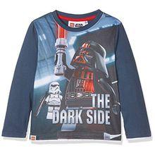 Lego Star Wars Jungen T-Shirt 83766, Blau (Jeansblau), 8 Jahre (Hersteller Größe: 8 Jahres)