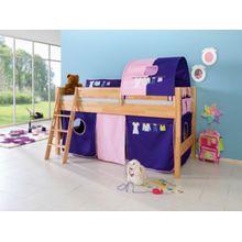 Relita Vorhangset Spielbetten, rosa-violett  Kinder