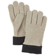 Hestra - Monoknit Merino Liner - Handschuhe Gr 7 grau/beige/schwarz