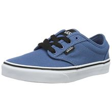 Vans Unisex-Kinder Atwood Sneaker, Blau (Canvas), 33 EU