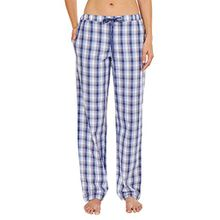Schiesser Damen Schlafanzughose Mix & Relax Web Hose lang, peached, Gr. 36, Mehrfarbig (multicolor 1 904)