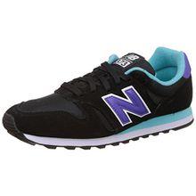 New Balance Damen 487651 50 Sneaker, Black (Black/001), 40 EU