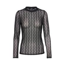 SISTERS POINT Bluse 'EXI' schwarz