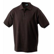 James & Nicholson Jungen Poloshirt Classic Polo Junior, Gr. XX-Large (Herstellergröße: XXL (158/164)), Braun