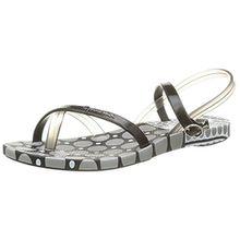 Ipanema Damen Fashion Sand III Sandalen, Schwarz/Silber, 38 EU