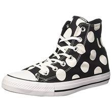 Converse Damen 556814c Sneakers, Schwarz (Black/White/White), 39.5 EU