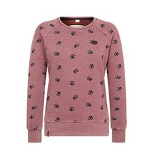 Naketano Female Sweatshirt Train harder Heritage Bordeaux Melange, L