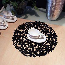 FŸhlte mich Runde Lace Flower Tischset Dinner Table Mat Isolierung Heizkissen