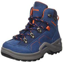Lowa Unisex-Kinder Kody Iii GTX Mid J Trekking-& Wanderstiefel, Blau (Blue/Orange 6021), 38 EU