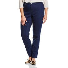 Junarose Damen Slim Jeanshose Jrqueen Nw Slim Jeans Darkblue Supply -K, Gr. 48, Blau (Dark Blue Denim Dark Blue Denim)