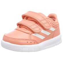 adidas Unisex Baby AltaSport Cloudfoam Sneaker, Pink (Chalk Coral/Footwear White/Real Coral), 26 EU