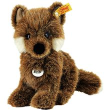 Steiff 70136 Fuxy Baby-Fuchs braun sitzend 18 cm