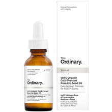 The Ordinary. 100% Organic Cold-Pressed Rose Hip Seed Oil - 30 ml - Farblos (Unisize)