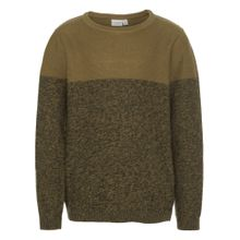 NAME IT Strickpullover curry / oliv