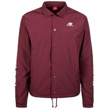 New Balance Essentials Winter Coaches Jacke Herren bordeaux Herren