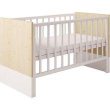 Kombi-Kinderbett Classic 140 x 70 cm, weiß, 1239.39